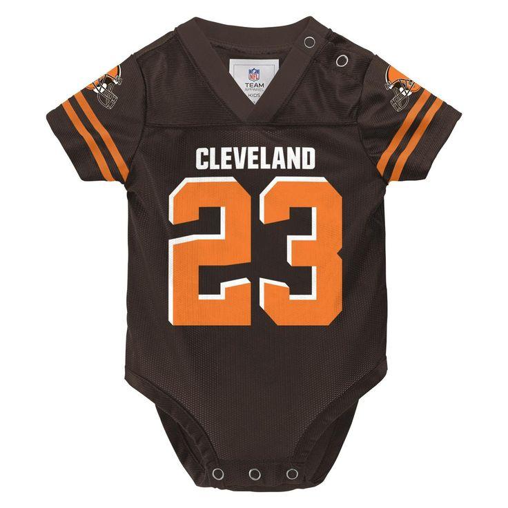 NFL Infants' Player Jersey Bodysuit - Cleveland Browns Joe Haden