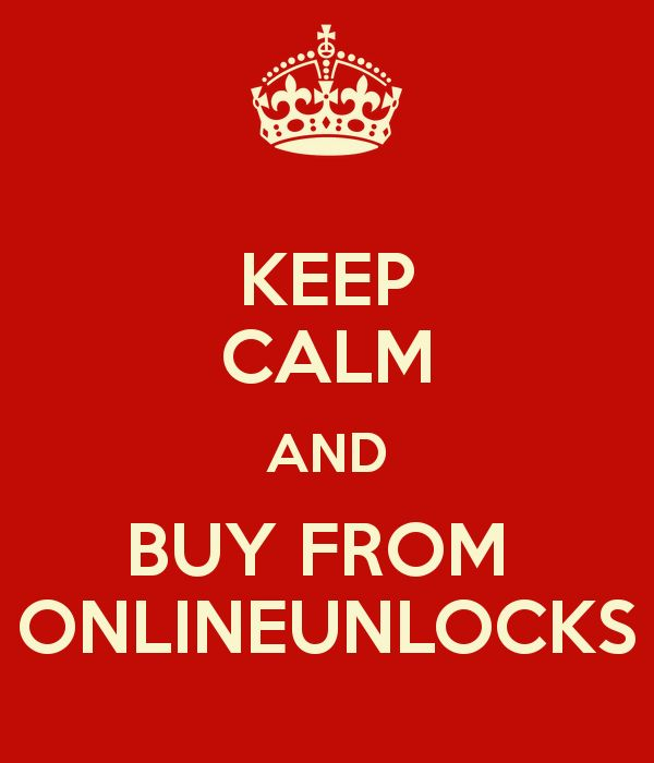 KEEP CALM AND BUY FROM  ONLINEUNLOCKS