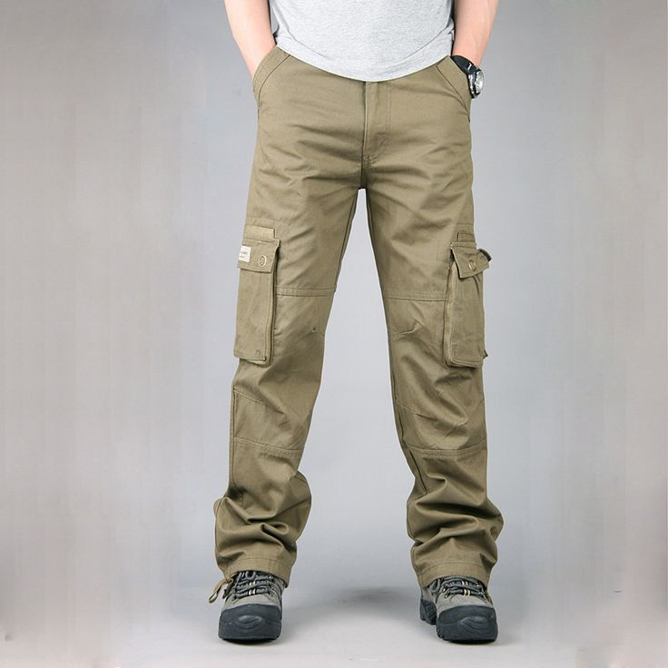 Tactical Cargo Pants Male Special Forces Soldiers Camouflage Overalls Clothes Loose Baggy Trousers Army Militar Pants. Click visit to buy #CargoPants