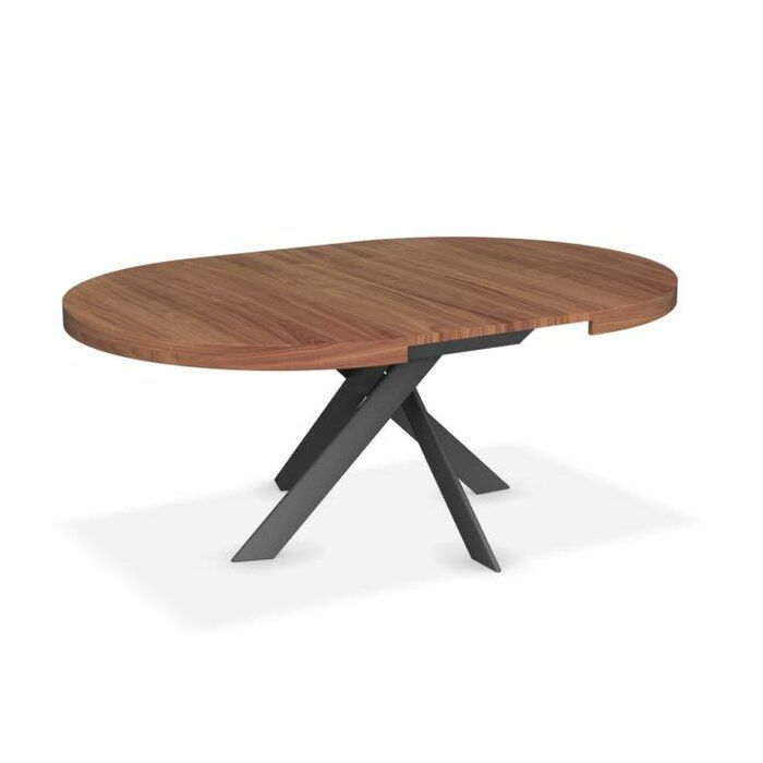 Calligaris Tivoli Extendable Dining Table Perigold Extendable Dining Table Modern Round Extendable Dining Table Oval Table Dining