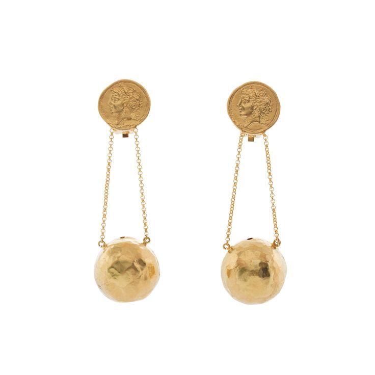 Selene Earrings Gold