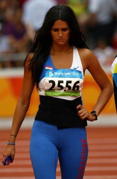 Leryn Franco, lanzadora de jabalina paraguaya