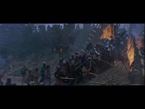 Scene from the movie Vercingétorix (2001)    The Battle of Alesia or Siege of Alesia took place in September, 52 BC around the Gallic oppidum of Alesia, a major town centre and hill fort of the Mandubii tribe.     It was fought by the army of the Roman Republic commanded by Julius Caesar, aided by cavalry commanders Mark Antony, Titus Labienus a...
