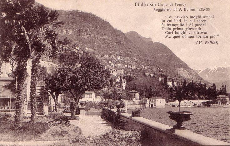 Ricordo a Vincenzo Bellino | Moltrasio #lakecomoville