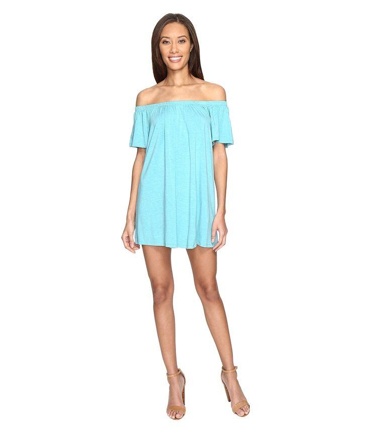 SUSANA MONACO SUSANA MONACO - HADID DRESS (TAHITIAN BLUE) WOMEN'S DRESS. #susanamonaco #cloth #