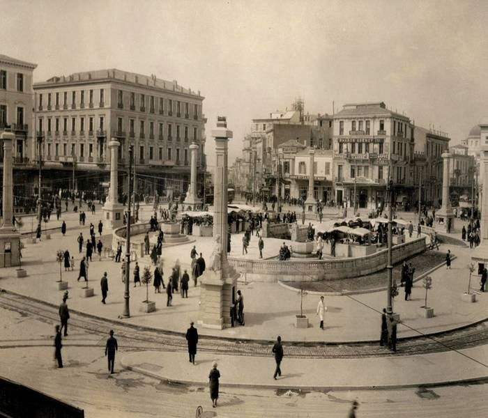Omonoia Square - 1930's #opticametaxas