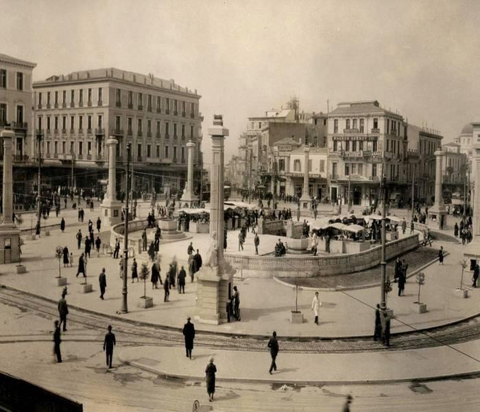 Omonoia Square - 1930's #opticametaxas