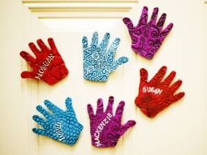 Precious Children's Hand Magnets make wonderful keepsakes.