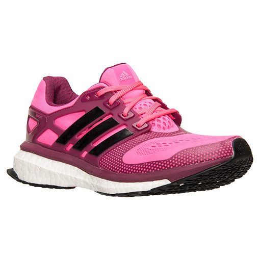 Women's adidas Energy Boost 2.0 ESM Running Shoes  Finish Line   Solar Pink