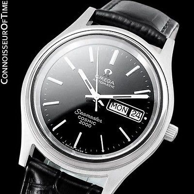1970's #omega seamaster #cosmic 2000 mens dive watch, #automatic, day date - stee,  View more on the LINK: http://www.zeppy.io/product/gb/2/371860949728/