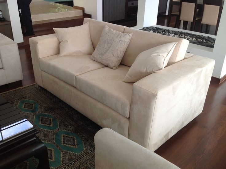 fabricación sofá de 2 puestos