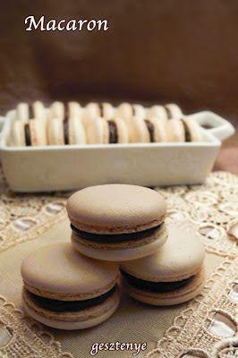 Gesztenye receptjei: Macaron ismét (olasz meringue)