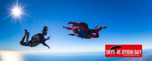 Go sky diving in Byron bay!