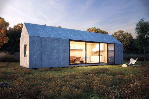 Portable house (Lightning study) by Ilija Todorovic, via Behance