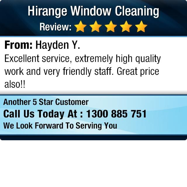Excellent service, extremely high quality work and very friendly staff.  Great price...