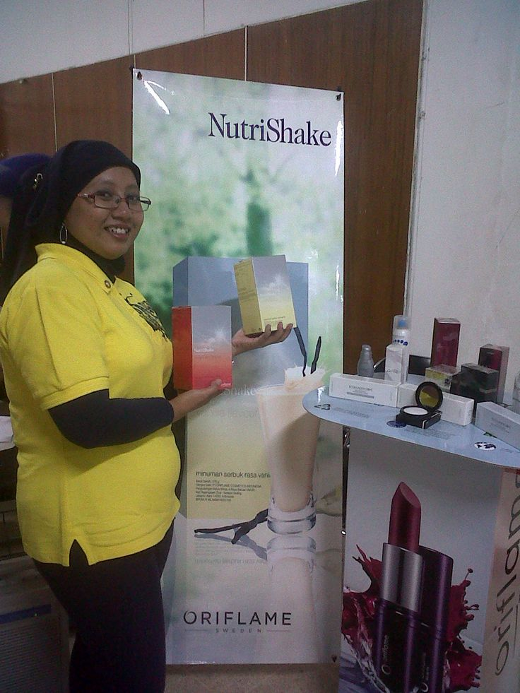me & Oriflame products