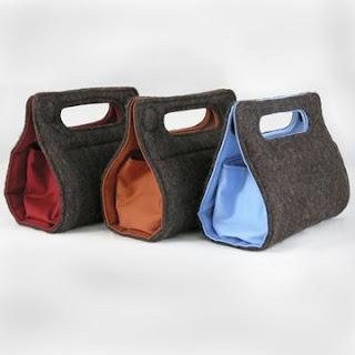 felt bags @Victorian Coleman