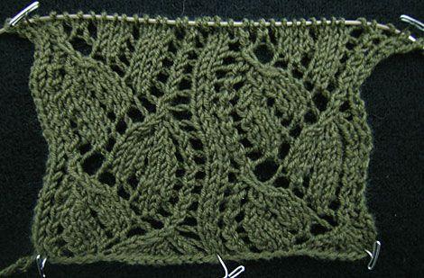 Dayflower Knitting Stitch Patterns Pinterest Swatch