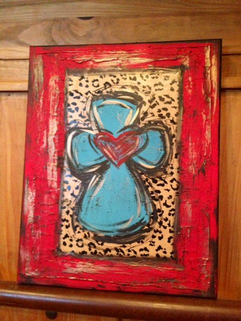 Textured Cross Art by DesignsbyDarlaT on Etsy, $125.00