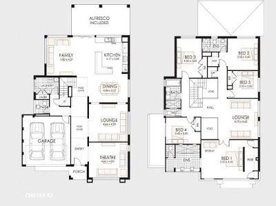 Planos de casas de dos pisos sketches decoration and - Planos de casas de dos pisos ...