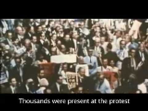 Chicago - Graham Nash, 1971 - a song about the Democratic Convention riots of 1968 with great footage of the police & demonstrators.