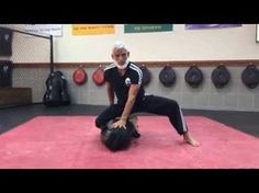 BJJ solo drills on heavy bag for MMA, grappling, or submission wrestling you can do at home - YouTube