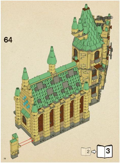 Harry Potter Hogwarts Castle Lego 4842 Lego Pinterest