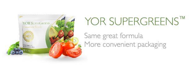 Keeping my body up and ready to go everyday :D YOR SuperGreens Convenience Bag