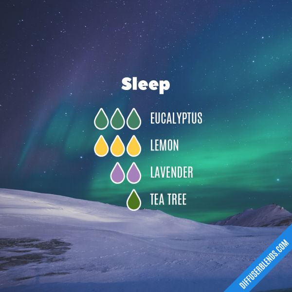 Sleep - Essential Oil Diffuser Blend #aromatherapysleepdiffuser #essentialoil