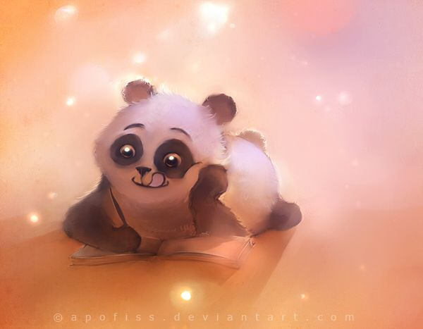 Panda Book by Apofiss #panda #book #apofiss