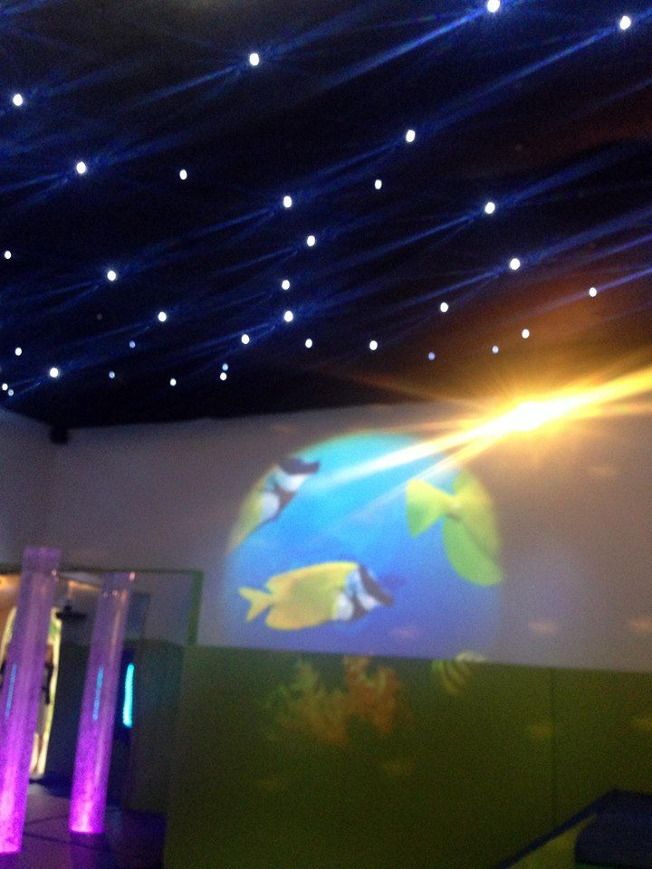 Our sensory star ceiling from www.adamandfriends.ie