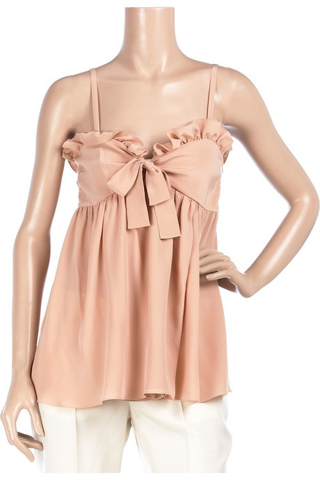 Chloé's Ruffle Babydoll Top | Fashion Stylish
