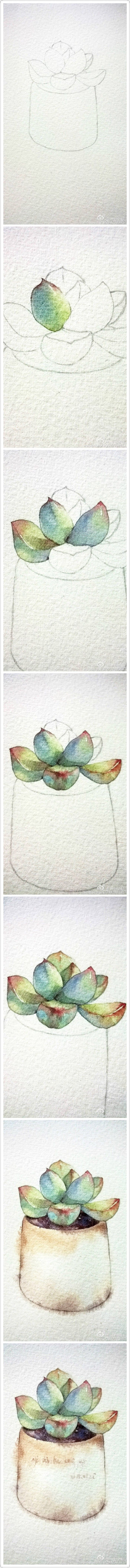 Etudes in Watercolor: how to develop creative abilities