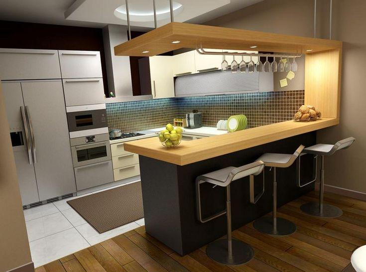 Kis étkező reggeliző hely ötletek konyhában - példák helykihasználás kialakítás