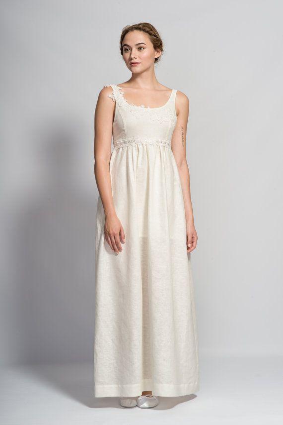 60 0ff Sample Sale Cosmos Wedding Dress Linen By TomomiOkubo
