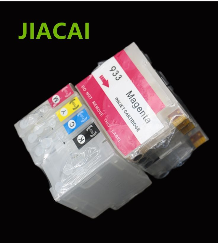 16.96$  Watch here - http://aliuzm.shopchina.info/go.php?t=32803883850 - Free shipping 932 933 932xl 933xl Empty Refillable Ink Cartridge For hp Officejet 7110 7610 7612 6100 6600 6700 with Chips  #buymethat