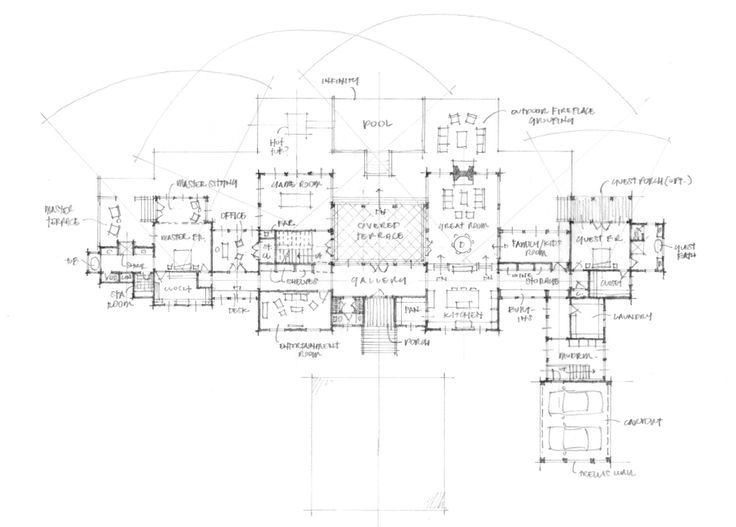 Historical concepts floor plans pinterest for Historical concepts architects