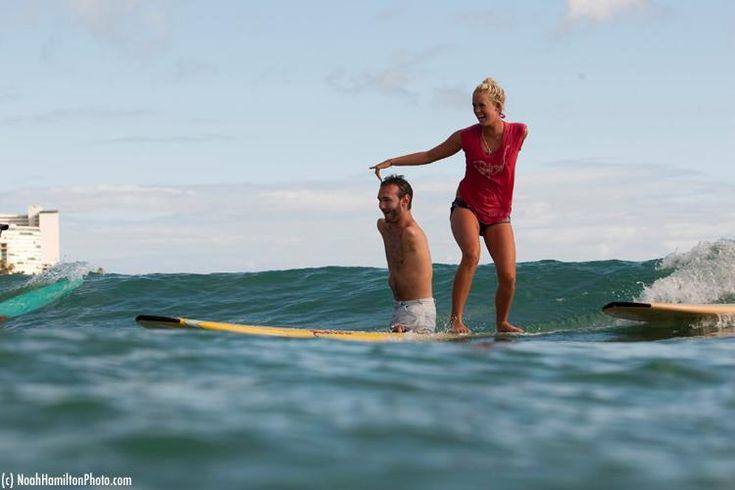 true inspiration. Bethany Hamilton and Nick Vujicic: Nick Vujicic, Photos, Picture, Inspirational People, Bethany Hamilton, Surf
