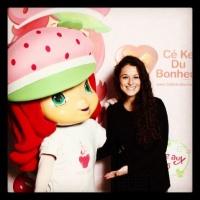 Un Jour je serai - Someday I'll be ... Strawberry shortcake who has a heart for Ce Ke Du Bonheur
