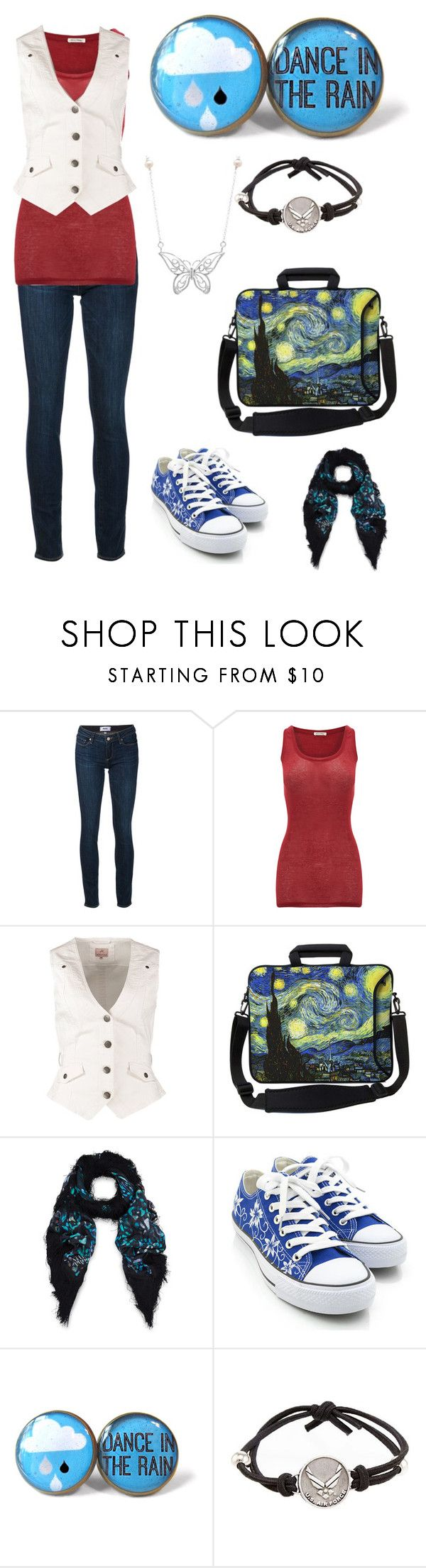 """New Start"" by conversecanvas ❤ liked on Polyvore featuring Paige Denim, American Vintage, Anna Field, Athena Procopiou, HVBAO, JewelGlo, Sterling Essentials, women's clothing, women and female"