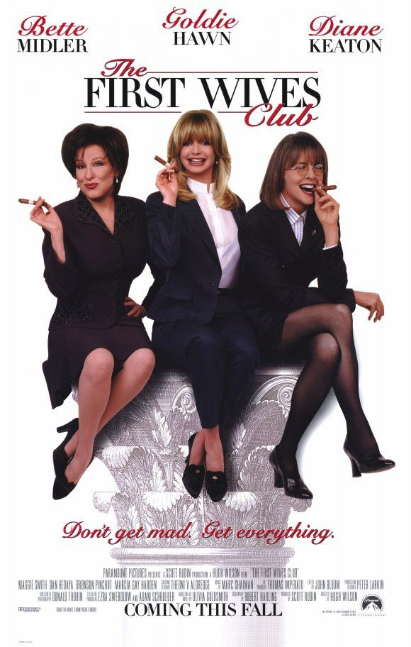 The First Wives Club 11x17 Movie Poster (1996)