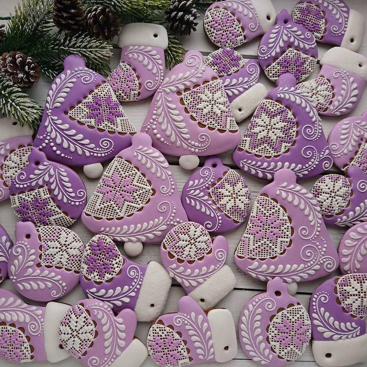 Lilac Spring Cookies