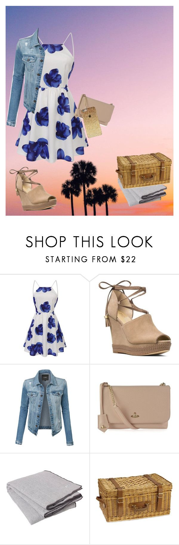 """""""Picnic Date Outfit"""" by emoji678 ❤ liked on Polyvore featuring MICHAEL Michael Kors, LE3NO, Vivienne Westwood, Broste Copenhagen and Williams-Sonoma"""