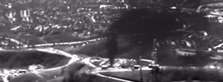 Notstand in #Kalifornien: Erfahrt mehr über das riesige #Methan #Gas #Leck bei #Los_Angeles. Mehr bei der #memo_AG:   State of #emergency in #California: #gas #leak near #LA. More: http://ow.ly/WNoUc - pic/Bild: Environmental Defense Fund and Earthworks (EDF)   dpa - ulz/ Reuters