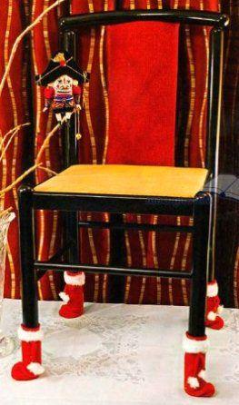 Носки для ножек стульев своими руками  #сделай_сам #ручнаяработа #рукоделие #хобби #handmade #сделать #хендмейд #шитье