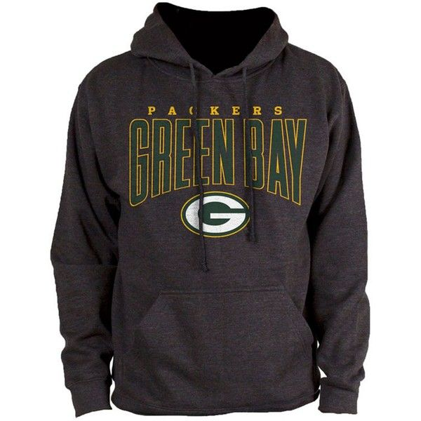 Authentic Nfl Apparel Men's Green Bay Packers Defensive Line Hoodie (135 BRL) ❤ liked on Polyvore featuring men's fashion, men's clothing, men's hoodies, heather charcoal, mens sweatshirts and hoodies, men's green bay packers hoodie, mens hoodie, mens hooded sweatshirts and mens hoodies