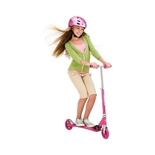 Razor Sweet Pea Cruiser Kick Scooter Folding Rear Brake Outdoor Ride Sports #Razor