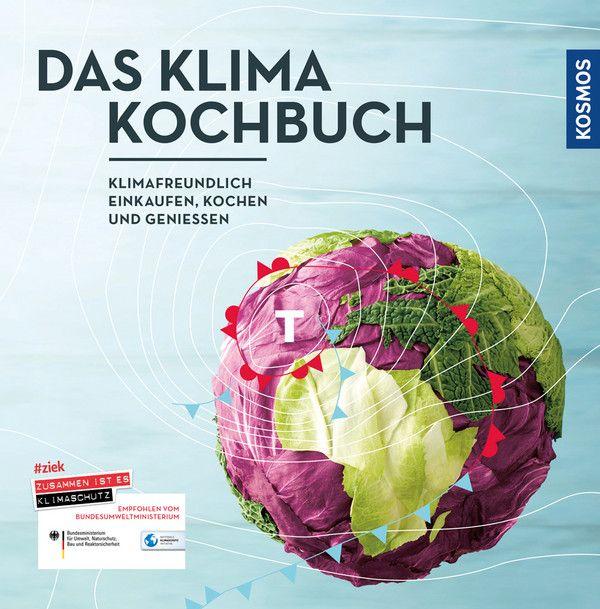 Das Klimakochbuch: Klimafreundlich einkaufen, kochen und genießen von Jenny Blekker, Boris Demrovski, Judith Keller, Christian Noll, Christoph Zinsius, Franckh Kosmos Verlag 2015, 2.Auflage, ISBN-13: 978-3440151747