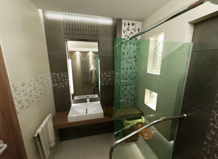 Łazienka zaadaptowana dla potrzeb osoby niepełnosprawnej.