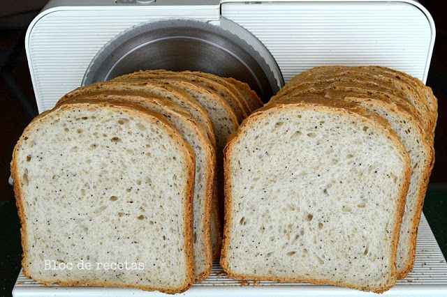 Pan de molde con semillas en panificadora Moulinex Home Bread Baguette